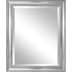 Silver Framed Bathroom Mirrors framed bathroom mirror rectangular shape with bottom shelf in