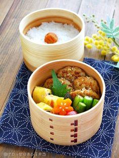 Duck lunch Wappa bending | [lunch meatball plump chicken teriyaki bento] 2014.5.12