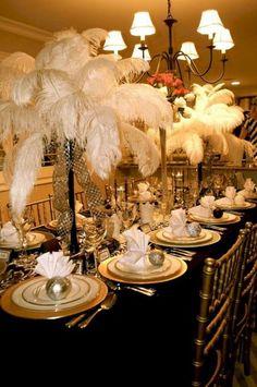 50 Great Gatsby Party Decor Ideas 27