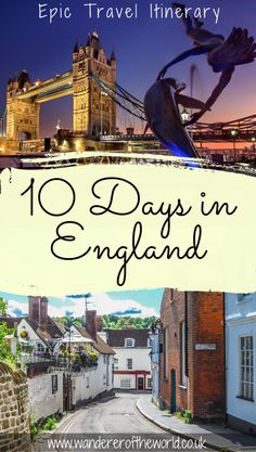 UK Trip Itinerary: Travel Around the UK in 10 Days To see more than just London, you should travel around the UK in 10 days or longer by car. This UK trip itinerary shows the incredible places you could see. Travel Guides, Travel Tips, Travel Uk, Travel Hacks, Uk And Ie Destinations, Road Trip, Uk Holidays, Voyage Europe, Things To Do In London
