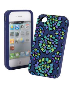 Look at this Indigo Pop Soft-Shell Case for iPhone 4/4s on #zulily today!
