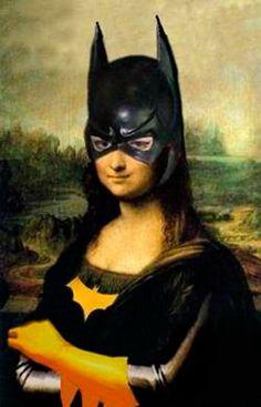 Mona Lisa - Batgirl