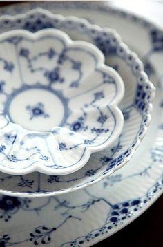 Royal Copenhagen dishes