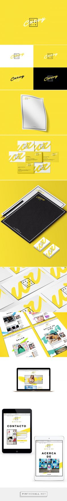 Espacio Curvy Digital Magazine Branding by Wendy Sejas | Fivestar Branding Agency – Design and Branding Agency & Curated Inspiration Gallery