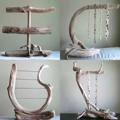 Driftwood 3 Tiered Bracelet Display with Ring Pegs Bracelet Organizer Photography Prop Boutique Display Jewelry Display Driftwood Art Driftwood Jewelry, Driftwood Projects, Driftwood Art, Wooden Jewelry, Vintage Jewelry, Craft Fair Displays, Market Displays, Craft Booths, Booth Displays