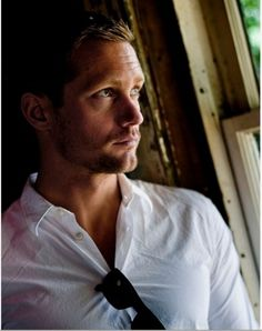 I would marry Alexander Skarsgard in a hot second.