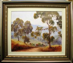 This is a great Pat Murphy original oil titled 'Cattle Country'. Australia Markings: Signed Pat Murphy lower right. Pat has always had a love for drawing and enjoyed art during her school years. Cattle, Trees, Australia, Oil, Country, The Originals, Drawings, Painting, Ebay