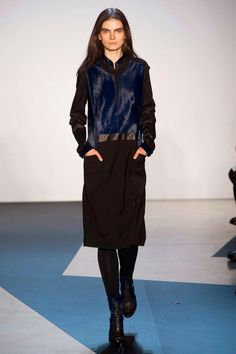 Look 21 / Helmut Lang Fall 2013 RTW Collection - Fashion on TheCut
