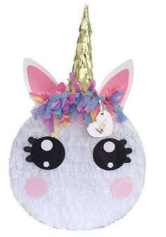 APINATA4U Unicorn Pinata Large Eyes
