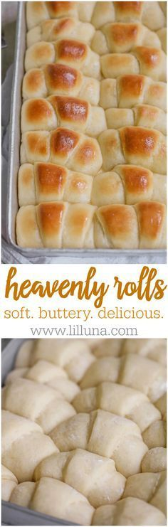 All-time Favorite Rolls Recipe - so soft, buttery and delicious. It's a family favorite!