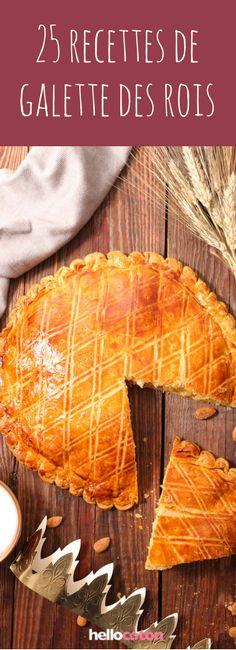 Au chocolat, aux pommes ou même végane : 25 recettes pour une galette des rois maison ! #recettes #cuisine #galette #galettedesrois #épiphanie #yummy