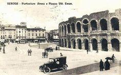 Verona - Particolare Arena Verona Italy, Street View, Photos, Italy, Fotografia, Masks, Pictures