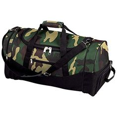 "Letter Love Beautiful 23"" Camo Water Repellent Tote Bag Duffle Gym Carry On Shoulder Mens Camouflage *** You can get additional details at"