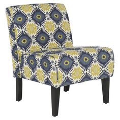 Invite the lush tropical style of Gauguins French Polynesia to your home with this beautiful design. Product: Chair    Co...
