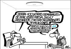 Viva la reforma laboral Viñeta: Forges - 9 JUN 2014 | Opinión | EL PAÍS