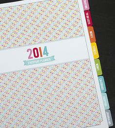 It's decided. My next planner will be a filofax with these printable inserts!