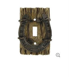 Horseshoe Single Switch Plate Cover