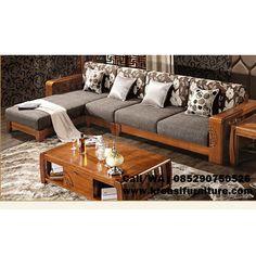 Kursi Tamu Sudut Ukir Japan Style Home Decor Furniture, Sofa Furniture, Furniture Design, Unique Bed Frames, Wooden Sofa Set Designs, Small House Interior Design, Living Room Sofa Design, Sofa Home, Bed Design