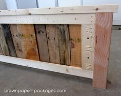 Wood Pallet Bed Tutorial