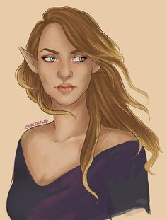 Feyre by chrll