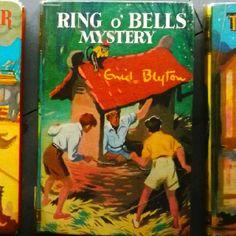 One of my favorite Enid Blyton books! Enid Blyton Books, Popular Books, Mystery Books, Vintage Children's Books, Classic Books, Libraries, Cover Art, Enchanted, Childhood Memories