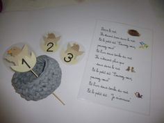 nid d'oiseau maternelle – RechercheGoogle Place Cards, Place Card Holders, Julien, Recherche Google, Voici, Rhymes Songs, Preschool