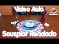 Sousplat Rendado - YouTube