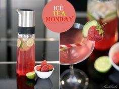 """""""Ice Tea Monday"""" – Strawberry Lime Tea – der wahrscheinlich """"cocktailigste"""" Eistee aller Zeiten - Backbube"""