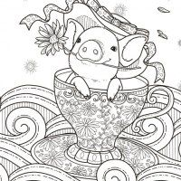 24 More Free Printable Adult Coloring Pages Page 7 Of 25 Pages To Color For Adults