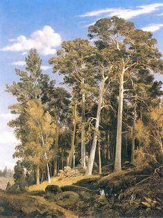 Pine forest (1866) - Ivan Shishkin