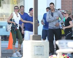 leaving SoulCycle in Boston (6/20/14)
