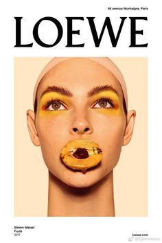 Dissecting Loewe's fruit photoshoot collaboration with Steven Meisel, Pat McGrath, and Guido.