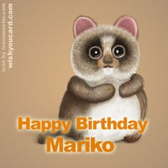 Happy Birthday, Mariko!