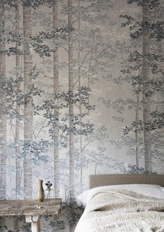 Bosky Wide Width Wallpapers by Lewis & Wood