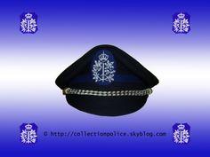 Képi pour inspecteur, inspecteur principal et inspecteur principal de 1ere classe de la Police Communale. © Le texte et la photo sont protégés par un copyright. ---------------------------- Keppie ...