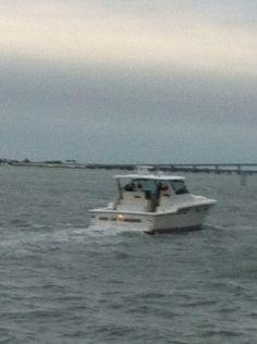 Boat on Biscsyne