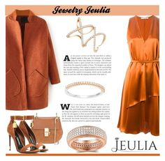 """Jeulia Jewelry - Orange Luxury"" by smasy ❤ liked on Polyvore featuring Givenchy, Chloé and Tom Ford"