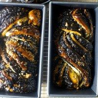 """Inadvertently, this has become Festivus week on Smitten Kitchen, wherein I air my grievances at past recipes and exhibit what I hope can be passed off as """"feats of strength"""" in reformul… Jewish Chocolate Babka Recipe, No Bake Desserts, Just Desserts, Holiday Desserts, Christmas Recipes, Best Chocolate, Chocolate Recipes, Martha Stewart, Bon Appetit"""