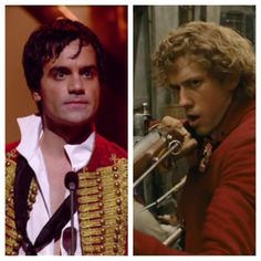 Ramin Karimloo (25th Anniversary Concert of Les Misérables at The O2 Arena in London, 2010) & Aaron Tveit (Les Misérables directed by Tom Hooper, 2012)