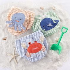 These diapers covers are so cute! Perfect baby shower gift!