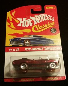 1970 Chevelle Convertible – Series 2: # 1 of 30 – Red (2006 Hot Wheels Classics) | Hill Country Picker