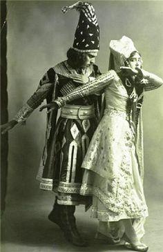 Tamara Karsavina and Adolph Bohm in Thamar