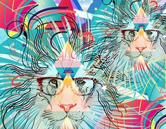 """Check out new work on my @Behance portfolio: """"Lion"""" http://on.be.net/1YIMxeq"""