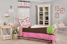 Owl Themed Bedroom Teens | owl bedding for teensSweet Dreams Owl Bedding Set by Pam Grace ...