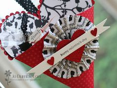 Petal Cone Valentine Heart - photos only