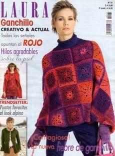Tejido Facil: Revista: Laura Ganchillo / Magazine: Laura´s Croch...