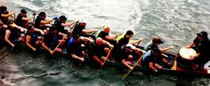 There are no super stars in dragon boat racing...only 20 people trying to paddle as one.