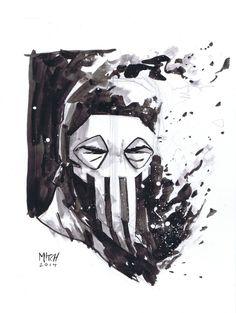 Punisher by Mitch Gerads Comic Art