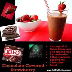 Chocolate Covered Strawberry Body by Vi Shake