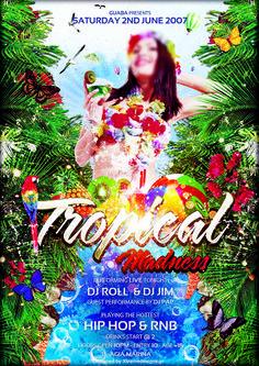 Guaba Club Party Flyer 2007